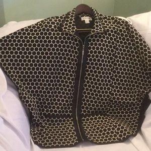 Joseph Ribkoff cap blazer jacket with pockets